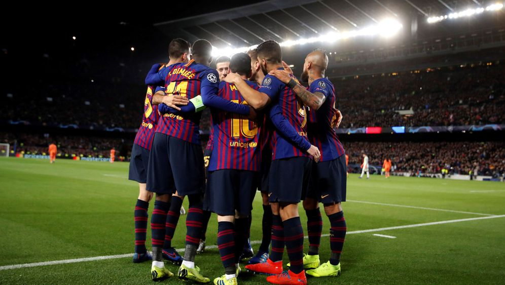 Champions League: Immer wieder Messi