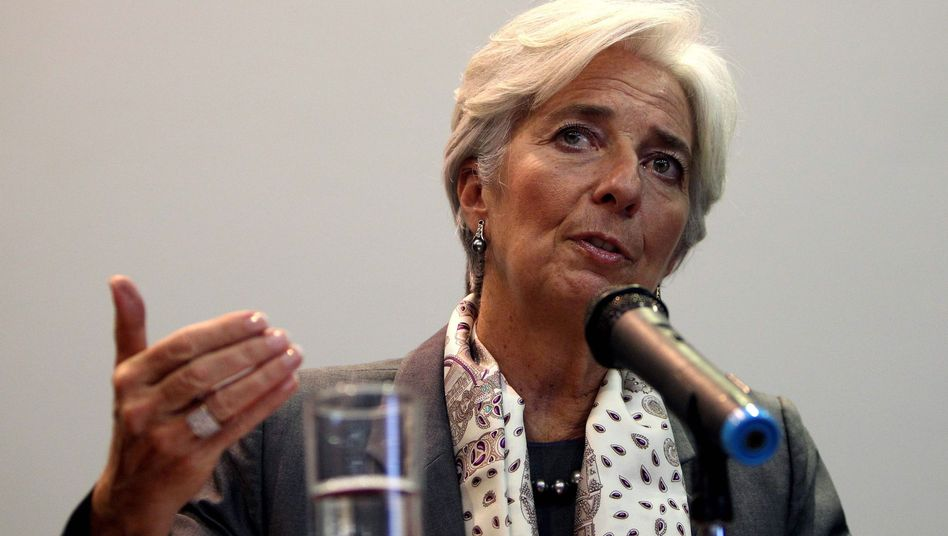 International Monetary Fund head Christine Lagarde has said that Germany should be the motor of growth in the EU.