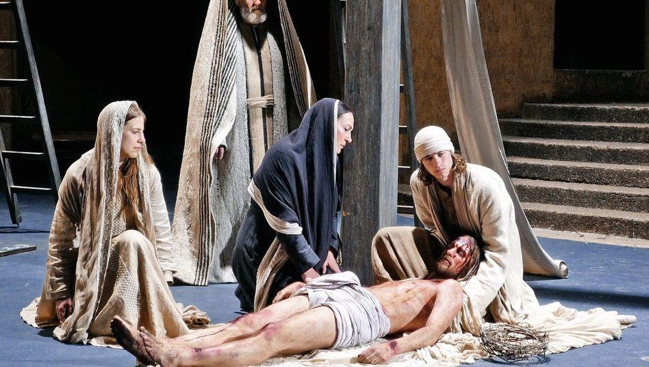 Passionsdarsteller in Oberammergau(*1): »Keinen Grund, meinen Glauben aufzugeben«
