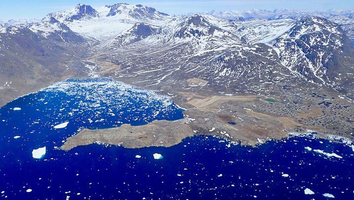 Sand aus Grönland: Ungewöhnliches Exportgut aus der Arktis
