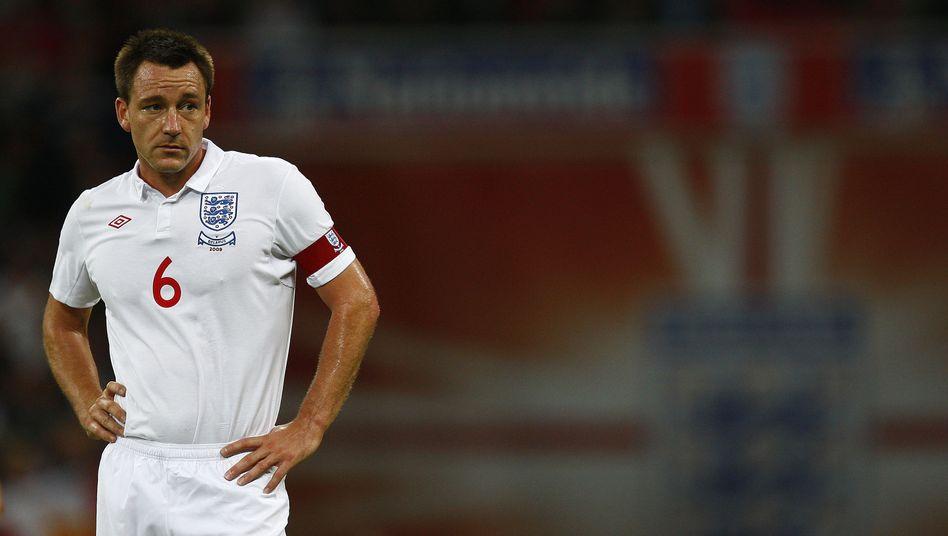 Englischer Fußballprofi Terry: Nicht länger Kapitän der Nationalmannschaft