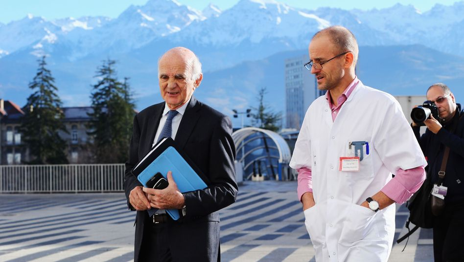 Mediziner Payen (r.): Erste Äußerung über berühmten Patienten