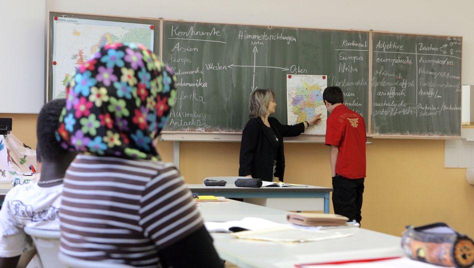 Schüler mit Migrationshintergrund: Das Bildungsniveau steigt