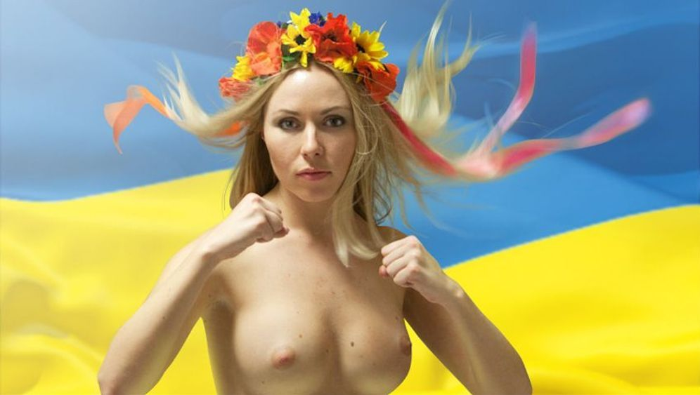 Photo Gallery: Ukraine's Topless Protesters