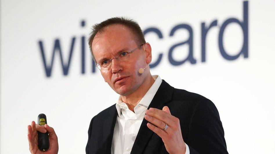 Markus Braun, CEO des Unternehmens Wirecard