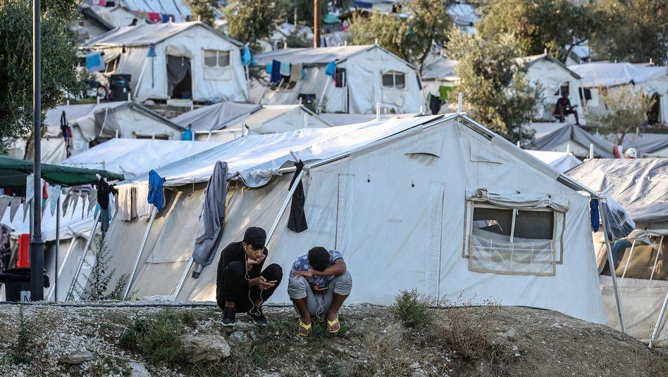 """Flüchtlingslager auf Lesbos: """"Die Situation ist dramatisch"""""""