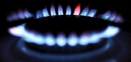 Gasflamme: Der Verbrauch ist extrem abhängig von der Jahreszeit