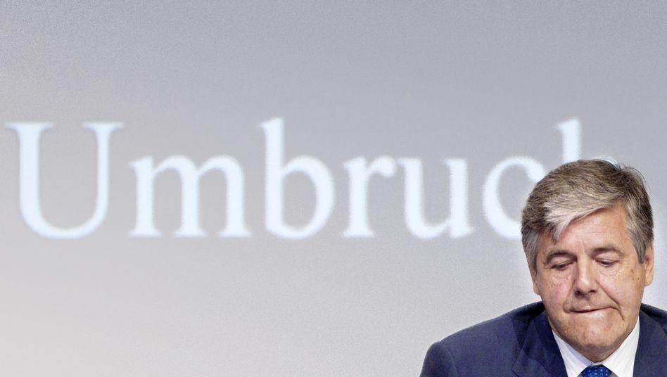 Deutsche-Bank-Chef Ackermann: Ziele außer Reichweite