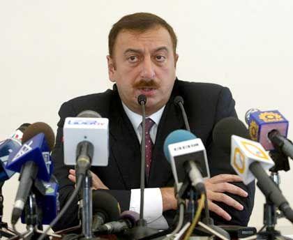 Aserbaidschans Präsident Alijew: Zu nah an den Schurkenstaaten?