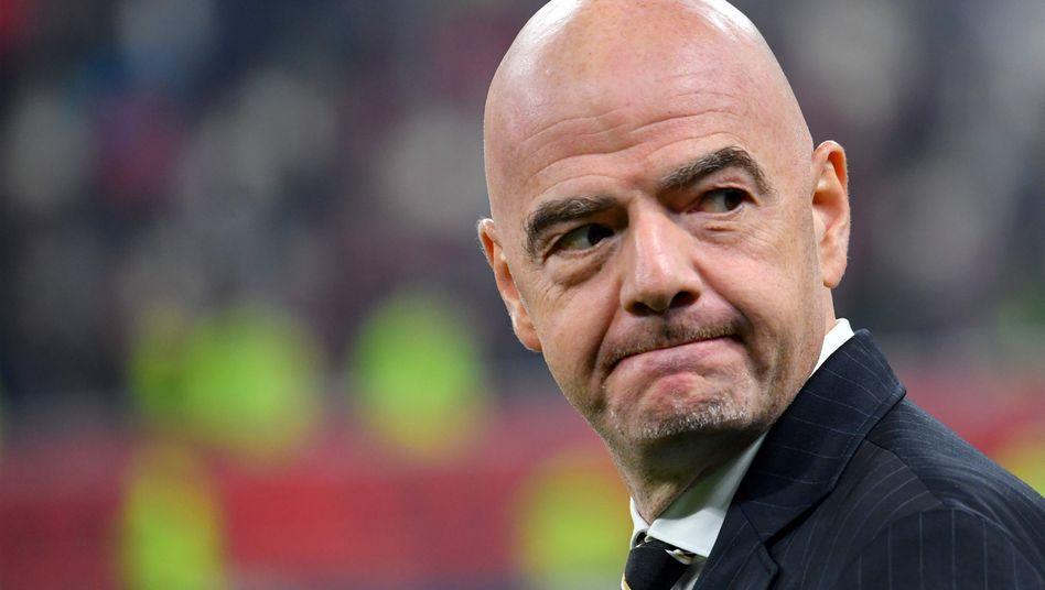 """Gianni Infantino: """"Er wird seinen Aufgaben innerhalb der Fifa weiter vollumfassend nachkommen"""""""