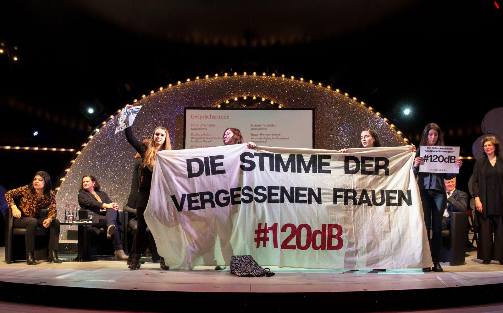 Berlinale/ Debatte/ Missbrauch