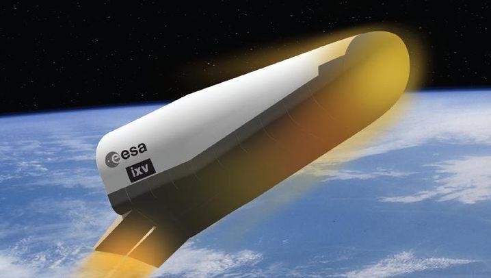 "Raumfahrzeug ""IXV"": Vor dem heißen Höllenritt"