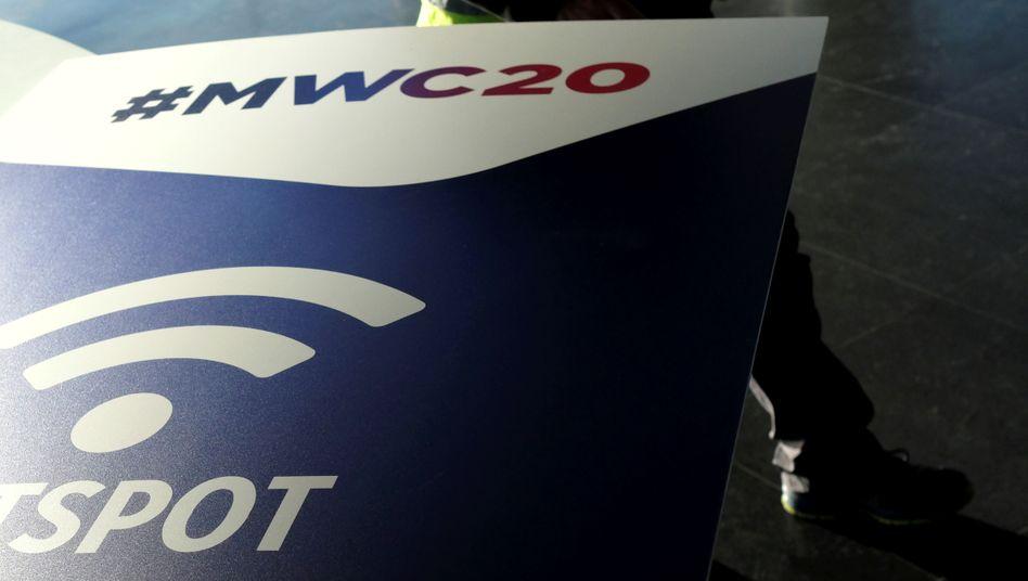 In Barcelona laufen die Vorbereitungen für den Mobile World Congress 2020