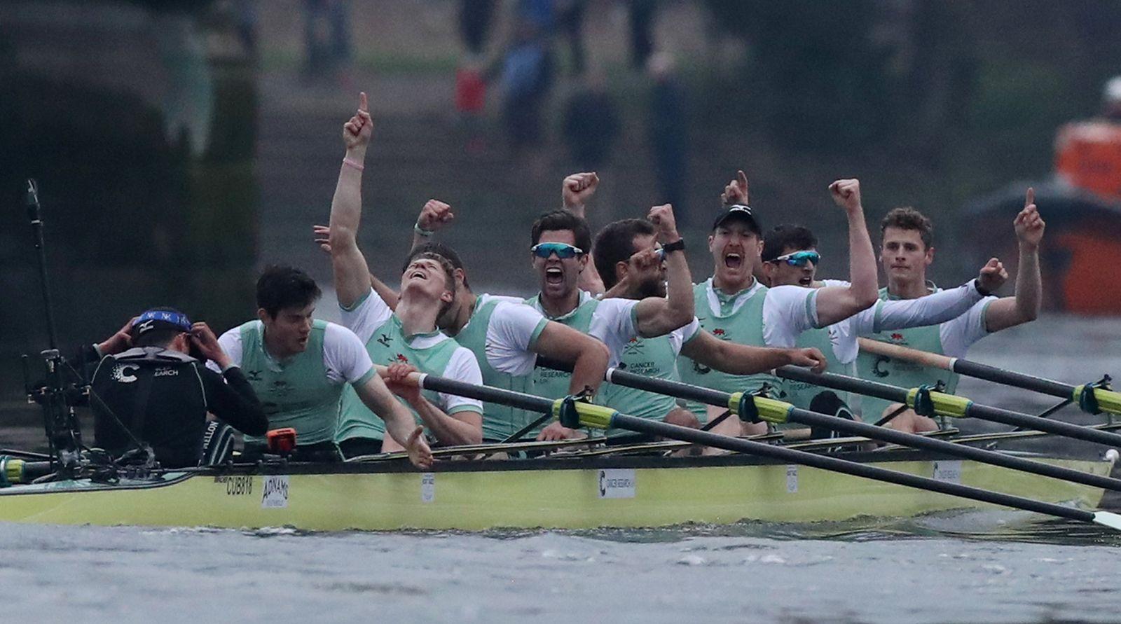 OXFORD-CAMBRIDGE/BOAT-RACE