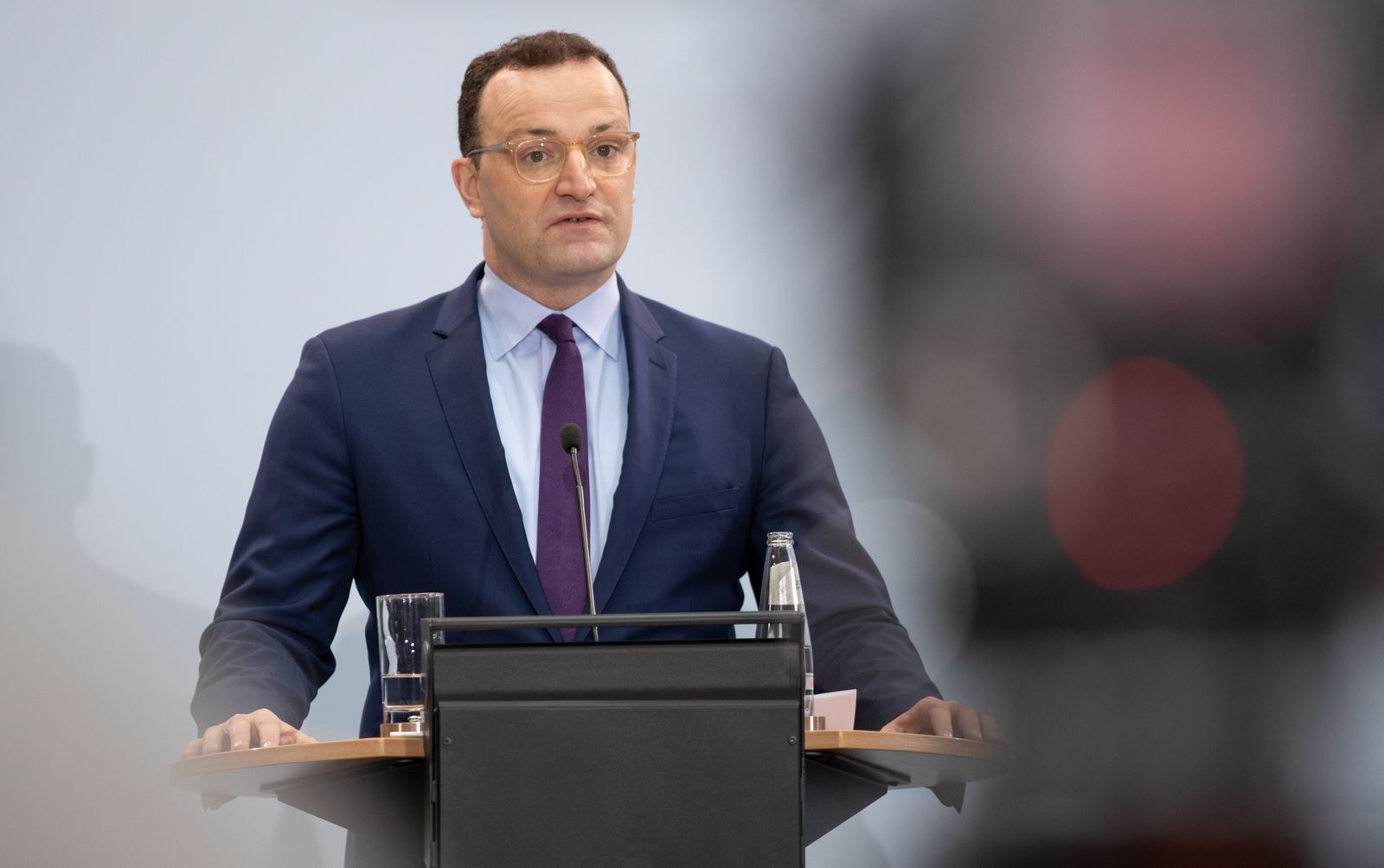 Health Minister Spahn Speaks On Eve Of Vaccinations Launch
