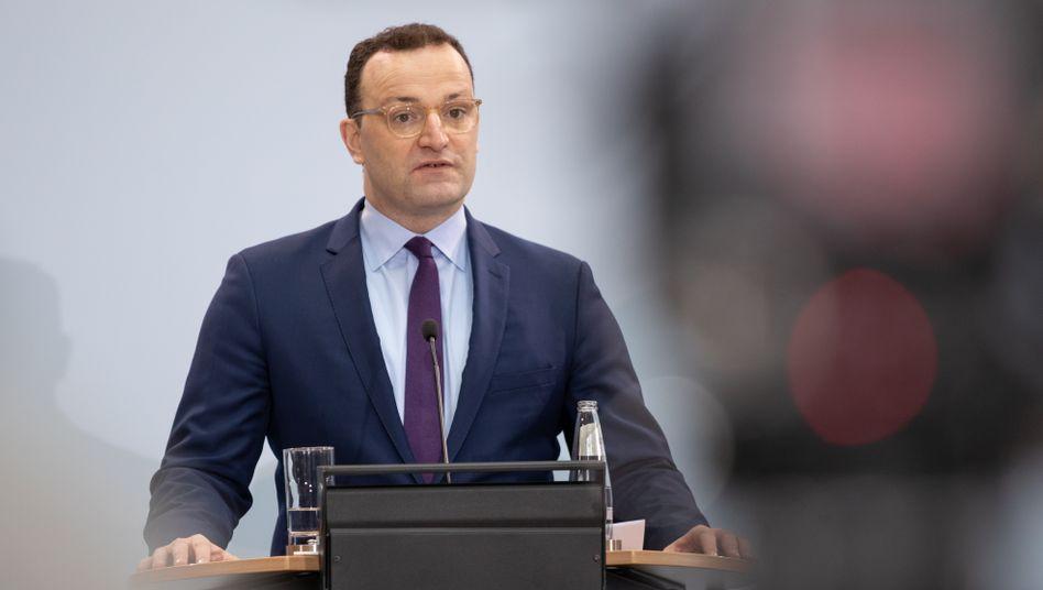 Gesundheitsminister Jens Spahn (CDU): Probleme beim Impfstart