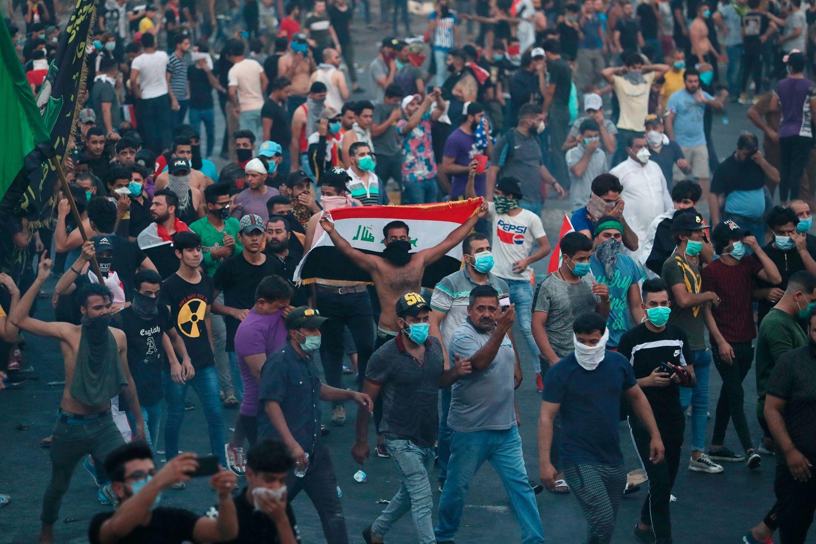 Anti-Korruptions-Proteste im Irak