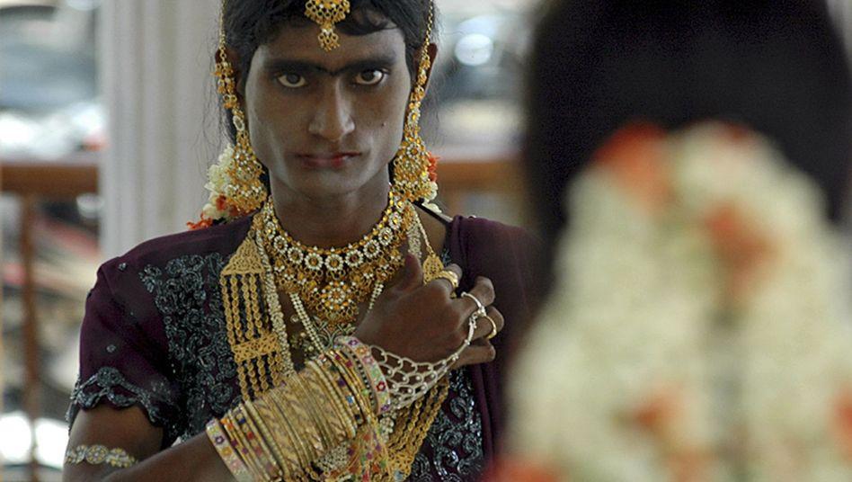 Eunuch in Villupuram, Indien (Archivbild): Stärkerer Organismus
