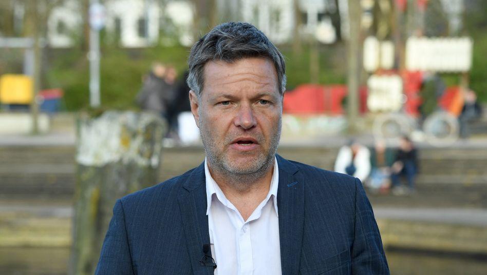 """Grünenchef Robert Habeck: """"Das, was ich eigentlich will, ist die Verantwortung übernehmen"""""""