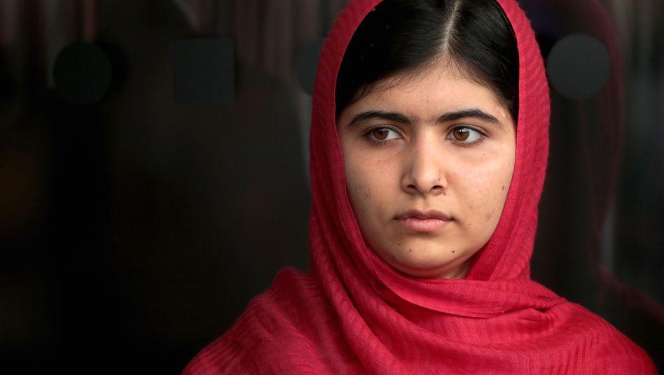 Die 16-jährige Malala: Die junge Frau ist in ihrem Heimatland umstritten