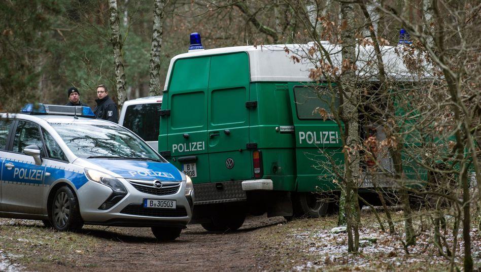 Einsatz in Berlin: Einer der Tatverdächtigen hat gestanden