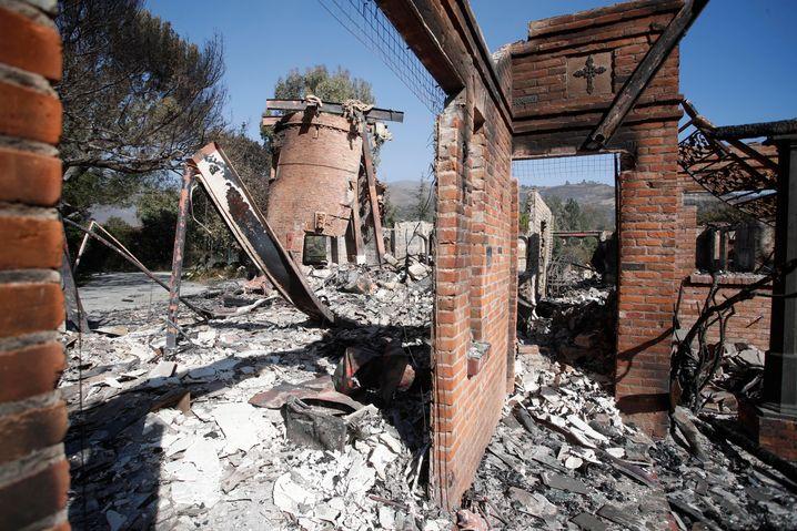 Ruine der Gottschalk-Villa