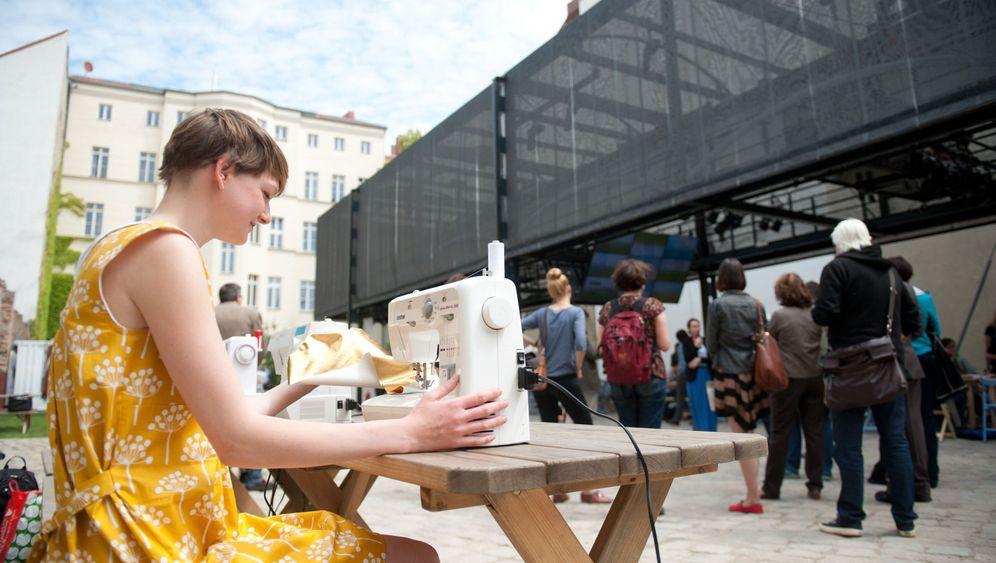 BMW Guggenheim Lab: Urbanes Weben