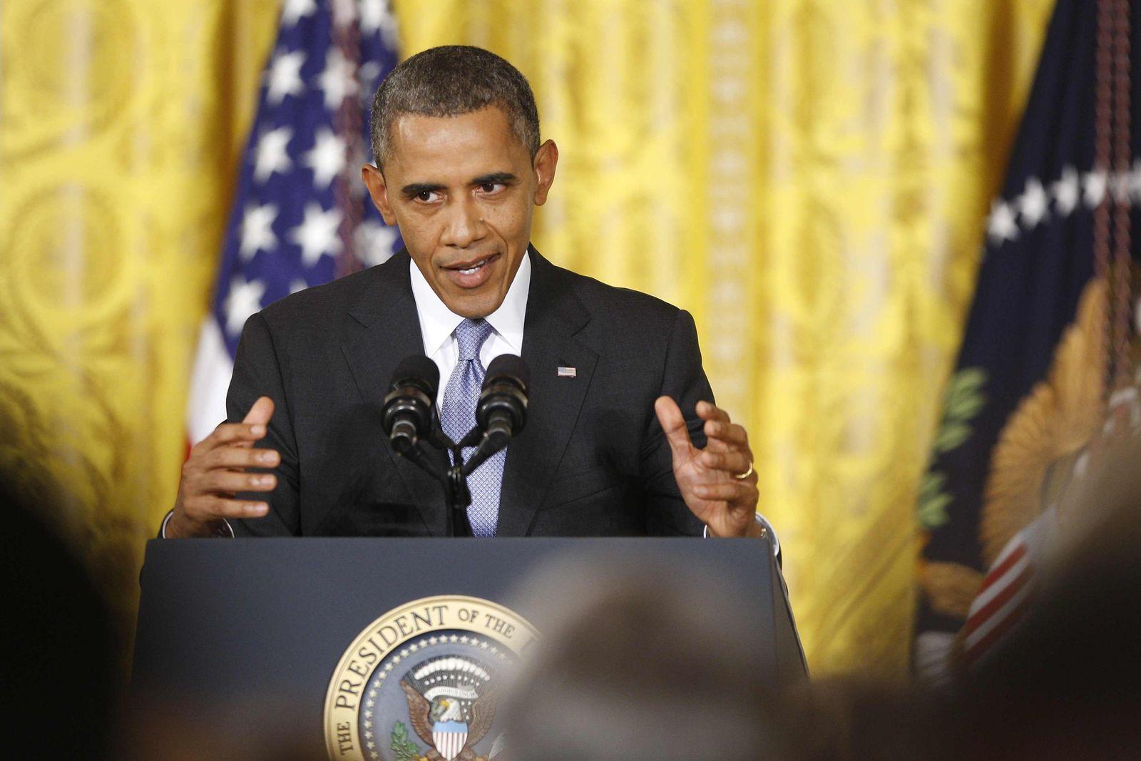 USA-OBAMA/SURVEILLANCE Pressekonferenz