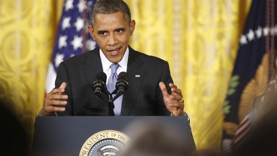 """US-Präsident Obama: """"Wir wollen nicht den einfachen Bürger ausspähen"""""""