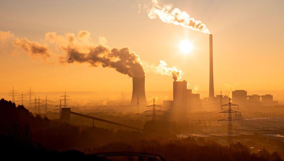 """Kraftwerk im Ruhrgebiet (Archivbild): Emissionszertifikate """"im Energie- und Industriebereich bewährt"""""""