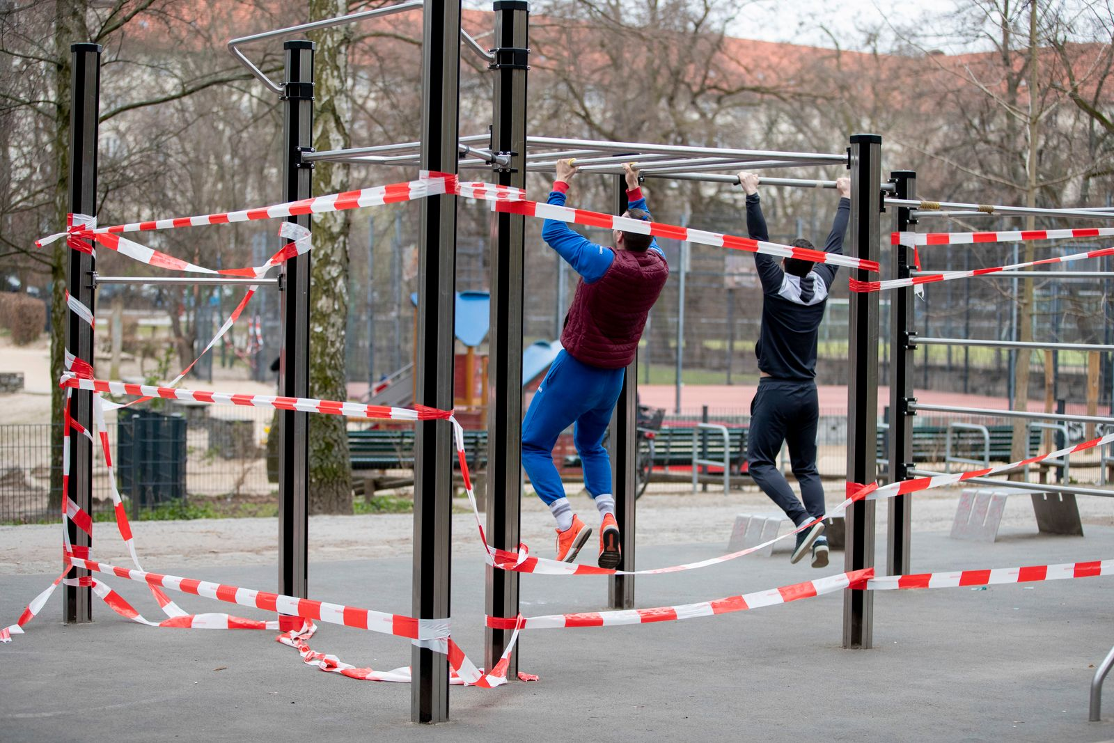 Coronavirus - Fitnessanlage in Berlin