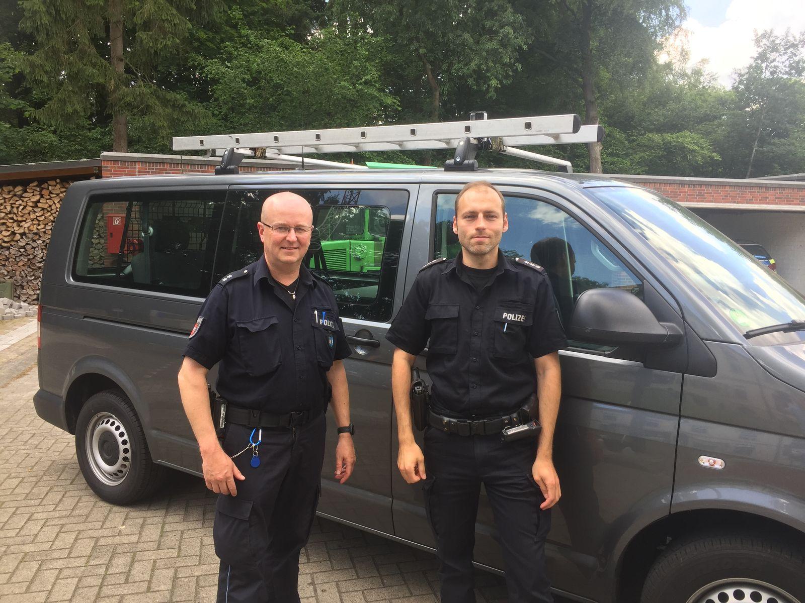 Oldenburg/ Polizeistreife/ abgelenkte LKW fahrer