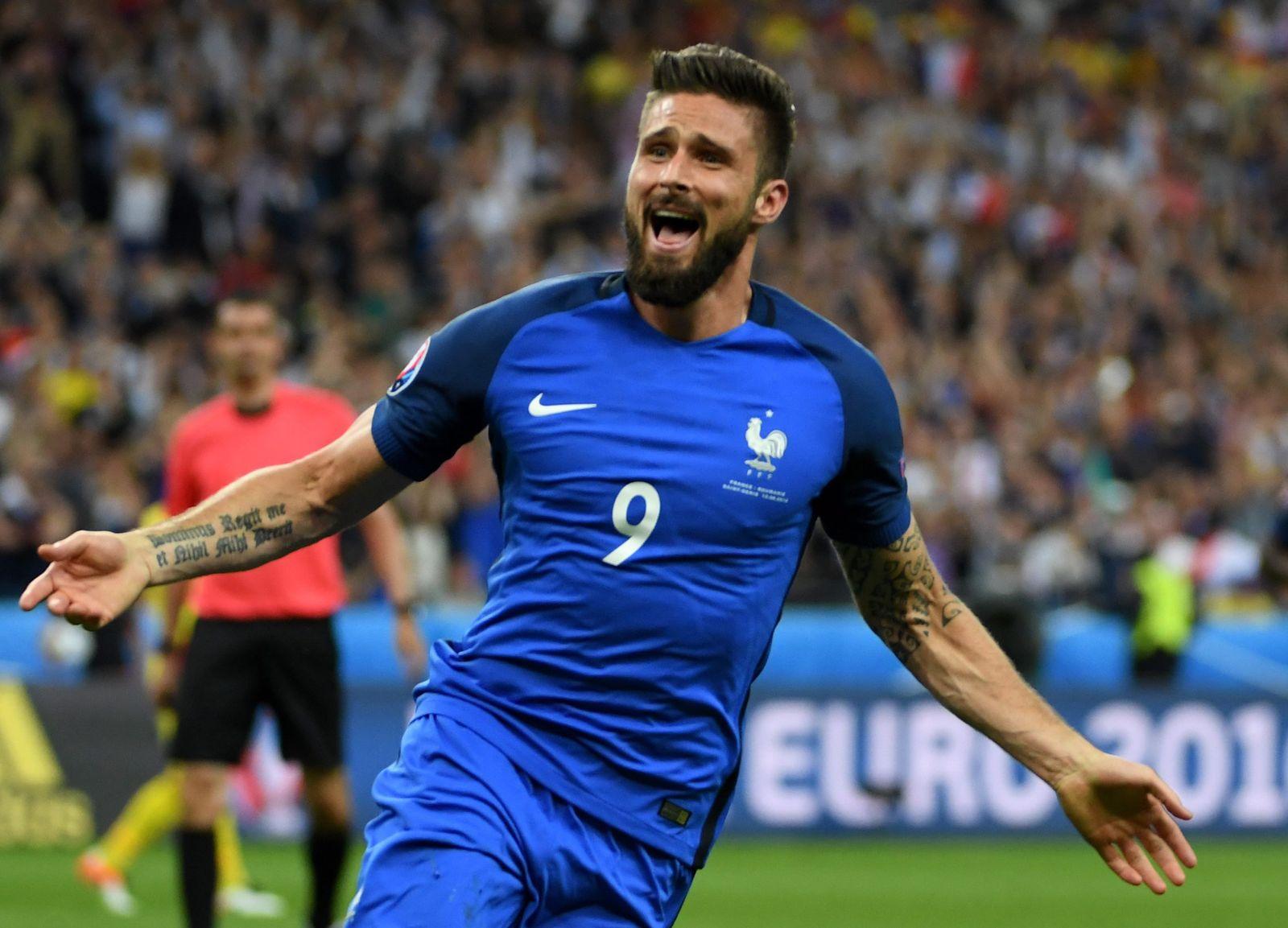 EURO 2016 - Group A France vs Romania