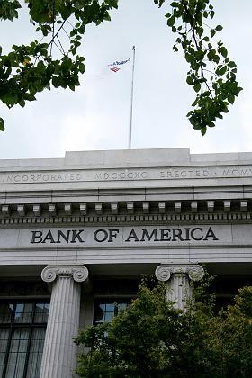"""Bank of America (in Washington, DC): """"Desaster auf den Finanzmärkten verhindern"""""""