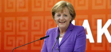 """Kanzlerin Merkel auf der Hannover Messe: """"Ein kleines Signal"""""""