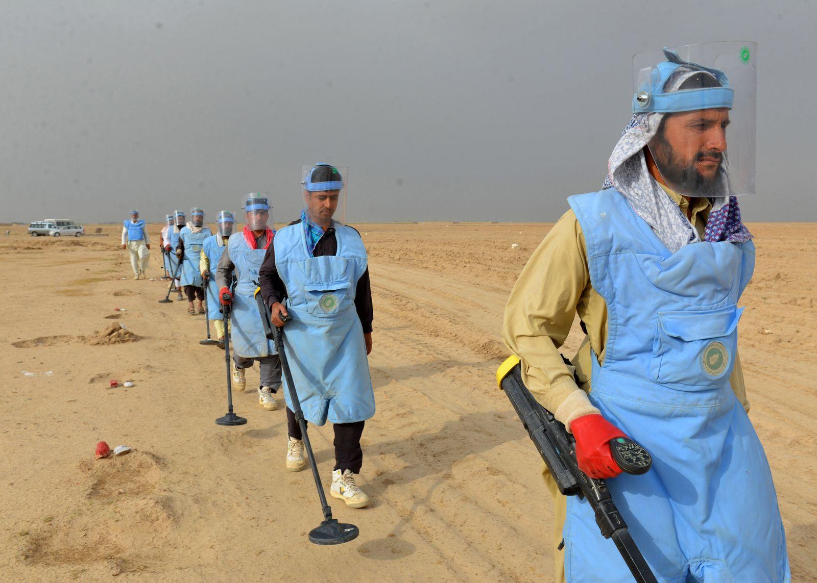 Landminen in Afghanistan