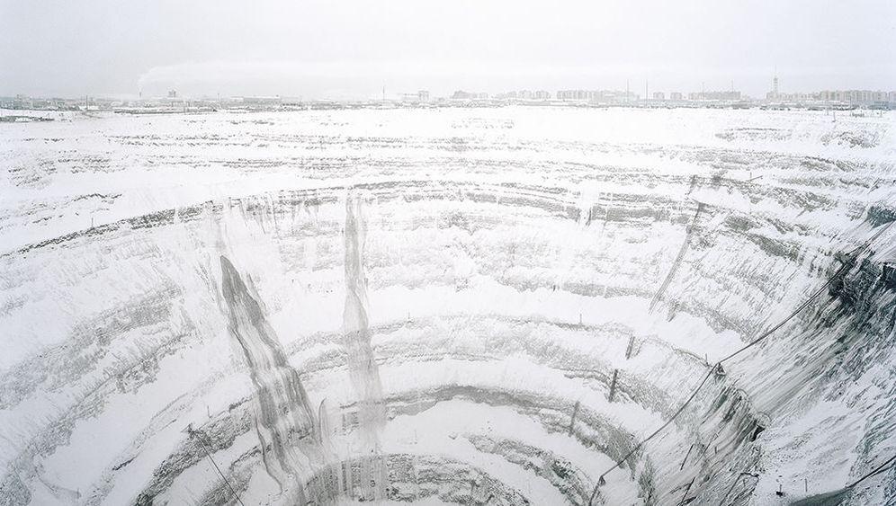 Diamantenmine Mirny: Edelsteine aus der Eishölle