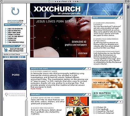 """""""Jesus loves Porn Stars"""": xxxchurch gibt sich frech, um eine fromme Botschaft an den Mann zu bringen"""