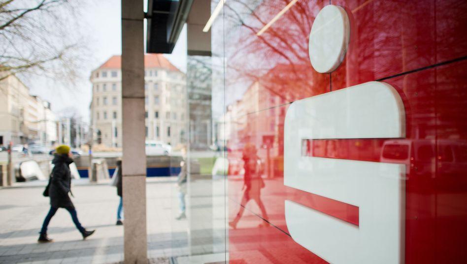 Filiale der Sparkasse in Hannover