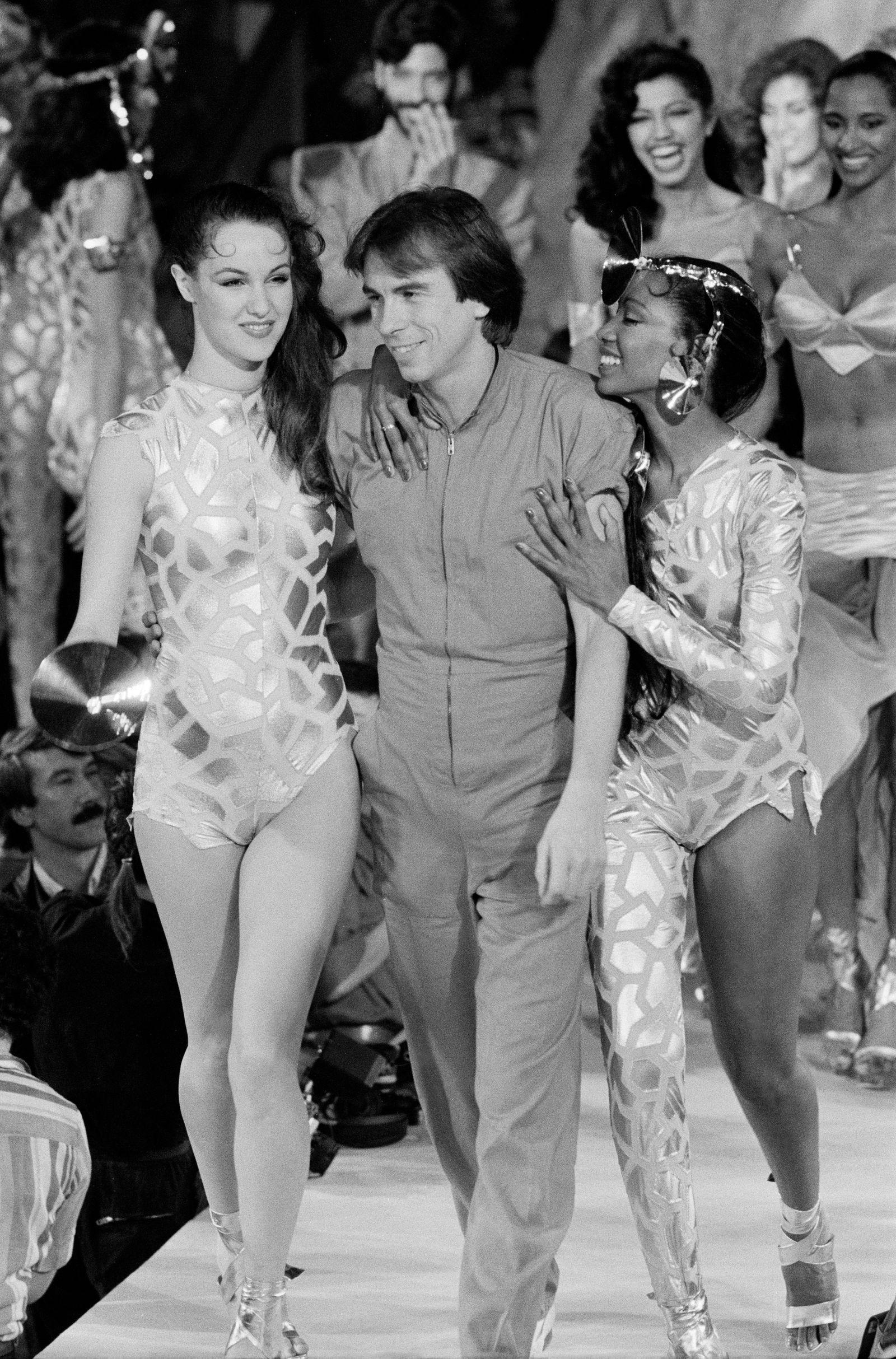 Défilé Mugler Prêt-à-Porter printemps-été 1980
