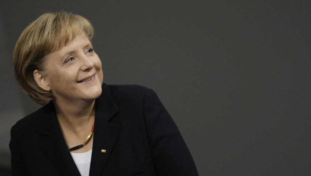 Angela Merkel: Tristes Heute, schönes Morgen