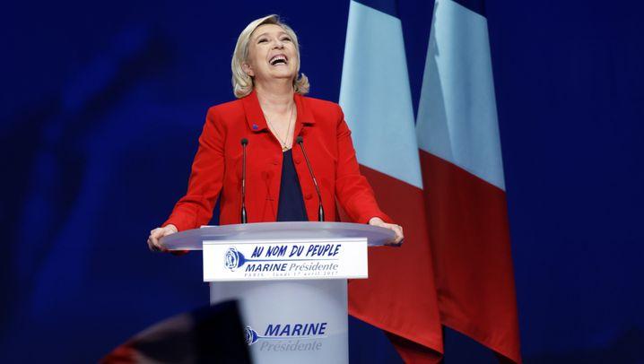 """Wahlen in Frankreich: """"Ich will nicht die Vizekanzlerin von Angela Merkel sein."""""""