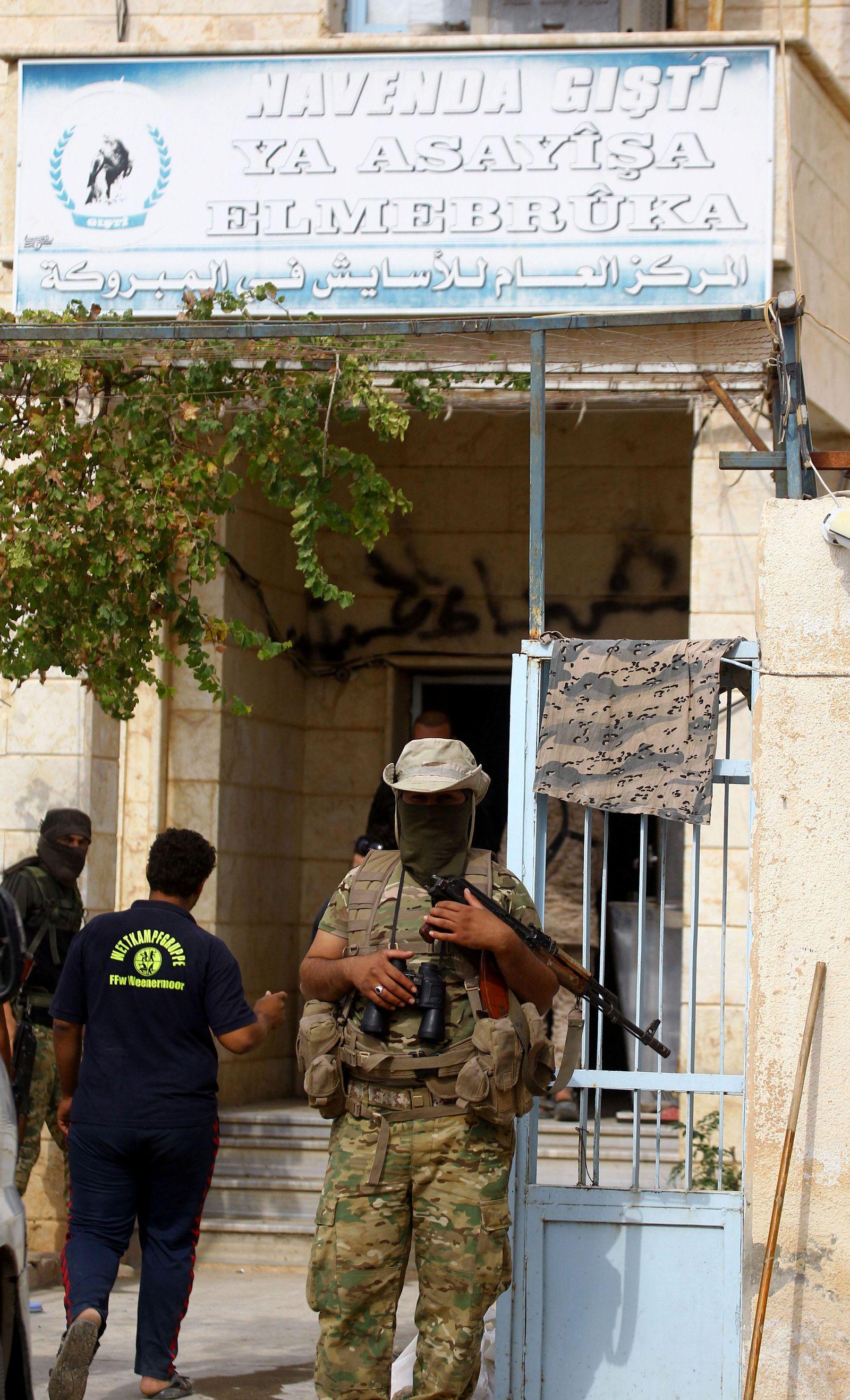 SYRIA-SECURITY/TURKEY