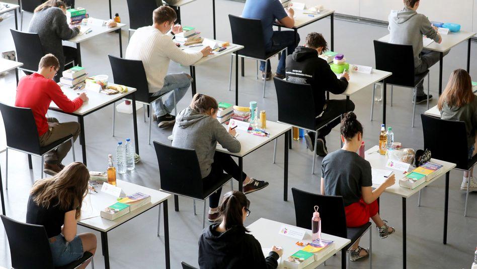 Auch in Bremen soll die Bewertung der Abiturprüfungen in Mathe angepasst werden