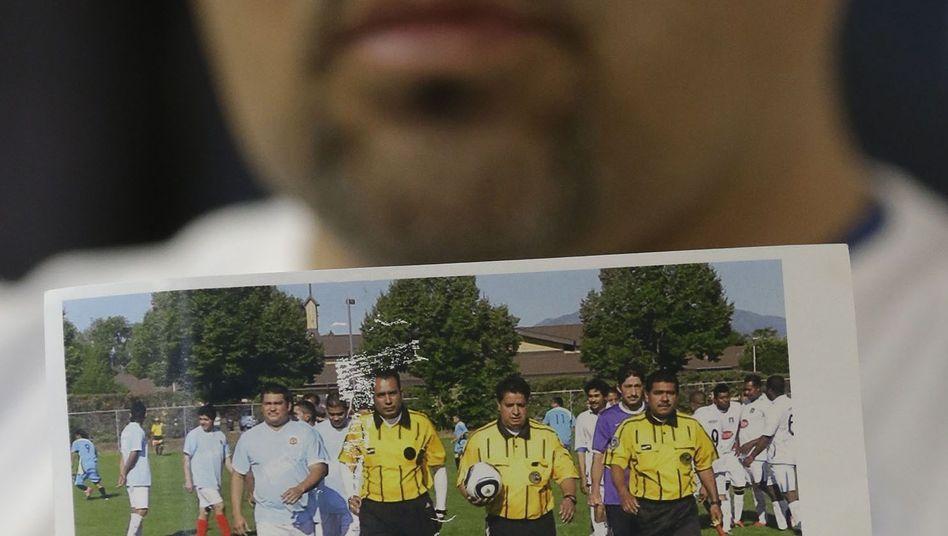 Ricardo Portillo (mitte): Erlag seiner Verletzung nach sieben Tagen im Koma
