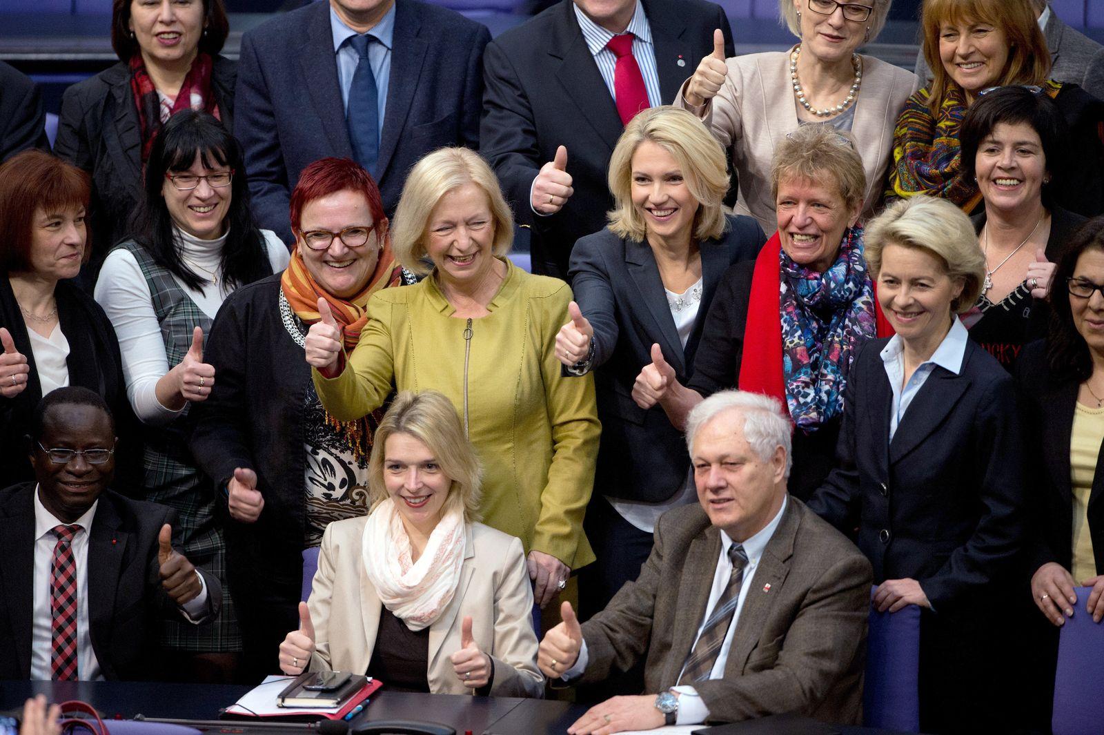 Bundestag/ Frauenquote