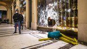 Ausschreitungen bei Protesten in Turin