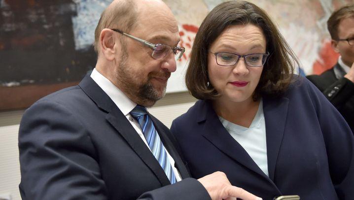 Nahles und Scholz: Das neue SPD-Machtzentrum