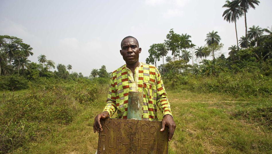 Alali Efanga aus Nigeria: Unterstützung von der Unep bei Protest gegen Ölpipeline