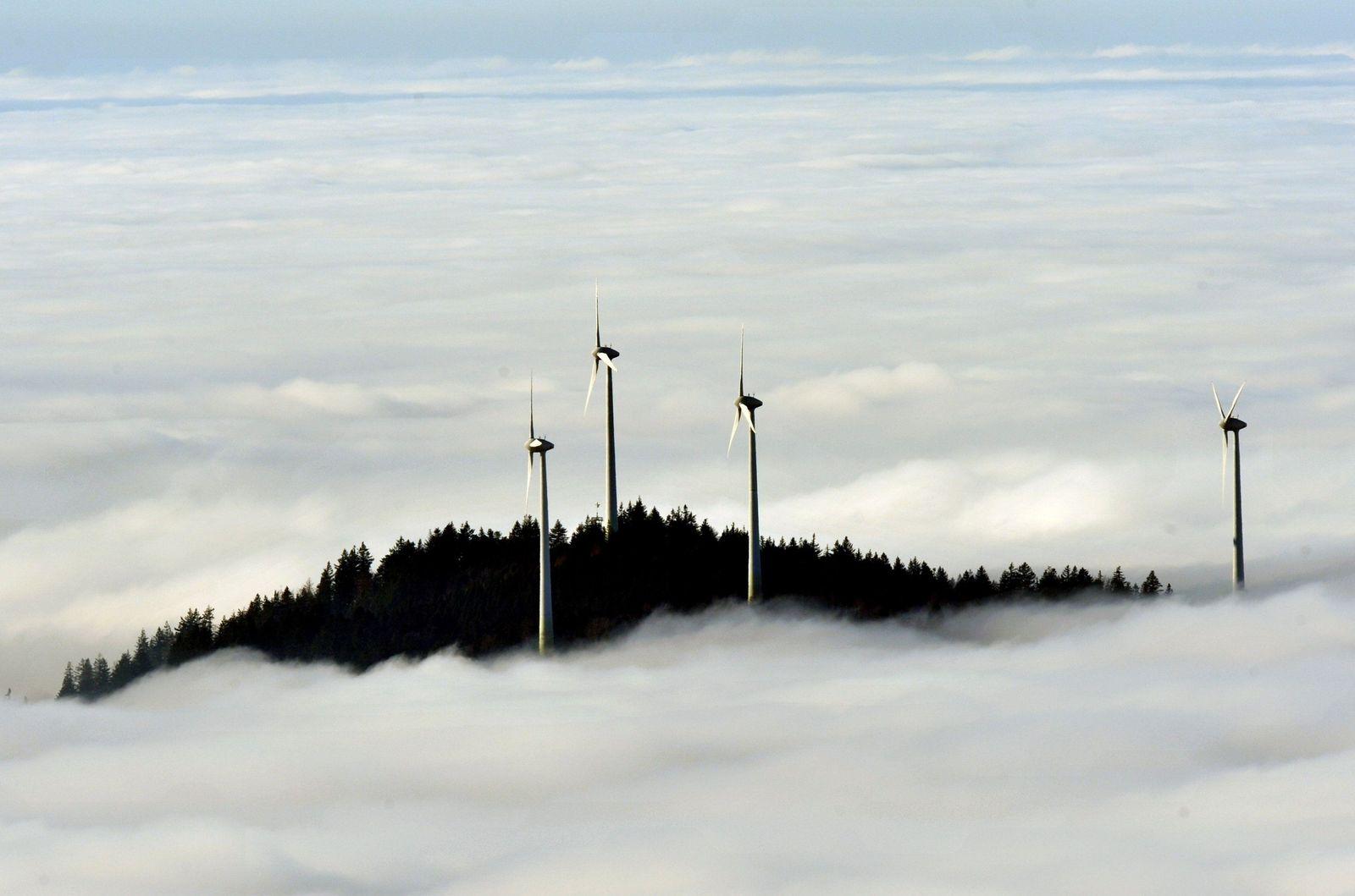 Symbolbild Windenergie / Windräder